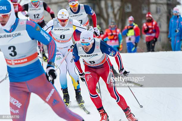 Finn Haagen Krogh of Norway during Cross Country Men 17 km Sprint Free on March 01 2016 in Gatineau Quebec Canada