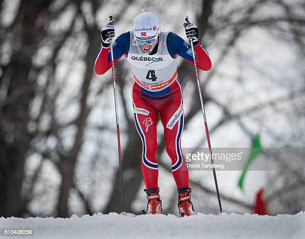 Finn Haagen Krogh of Norway during Cross Country Men 175 km Mass Start Classic on March 02 2016 in Montreal Canada