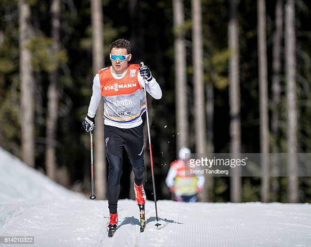 Finn Haagen Krogh of Norway during training Cross Country on March 07 2016 in Canmore Alberta Canada
