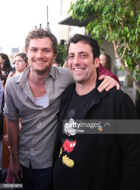 Finn Jones and Raven Metzner attend Entertainment Weekly and Marvel Television host an After Dark Party at San Diego ComicCon 2018 at Hard Rock Hotel...