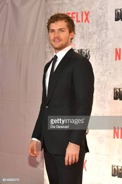 Finn Jones attends the Marvel's The Defenders New York Premiere at Tribeca Performing Arts Center on July 31 2017 in New York City
