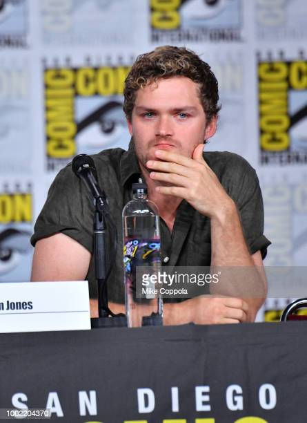 Finn Jones speaks onstage at Netflix Marvel's Iron Fist during ComicCon International 2018 at San Diego Convention Center on July 19 2018 in San...