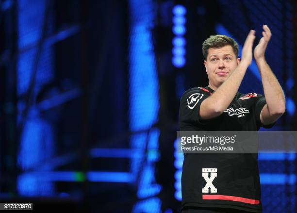 Finn karrigan Andersen during CounterStrike Global Offensive quarterfinal game between Cloud9 and FaZe Clan on March 2 2018 in Katowice Poland