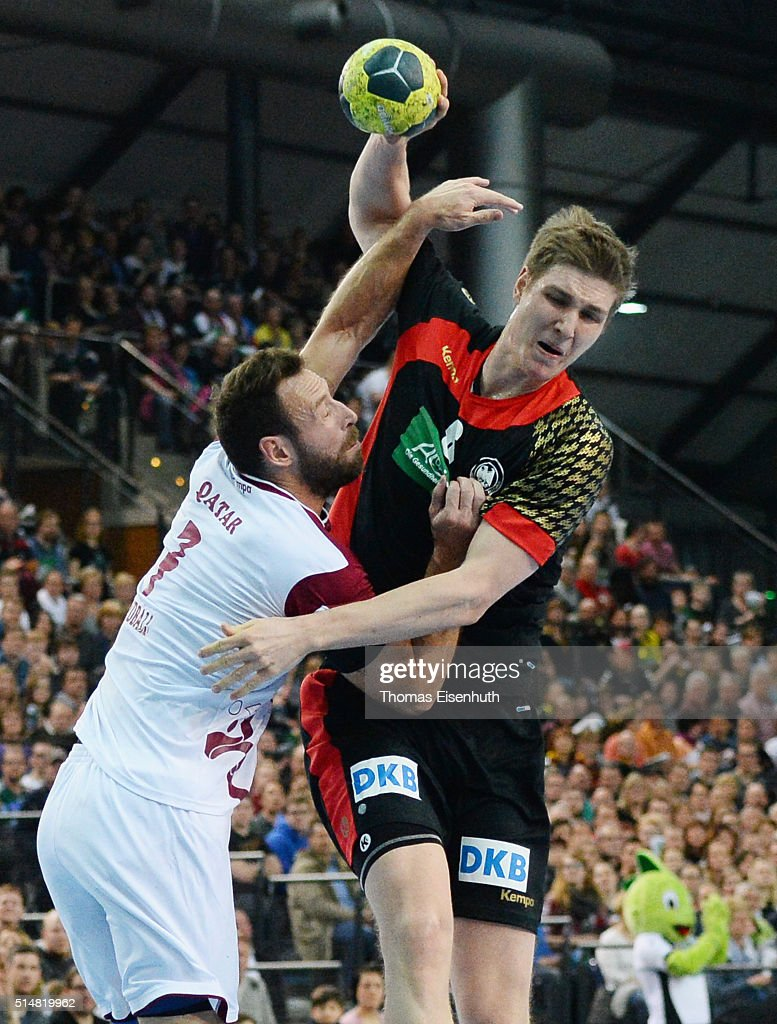 Finn Lemke Of Germany Is Challenged By Bertrand Roine Of