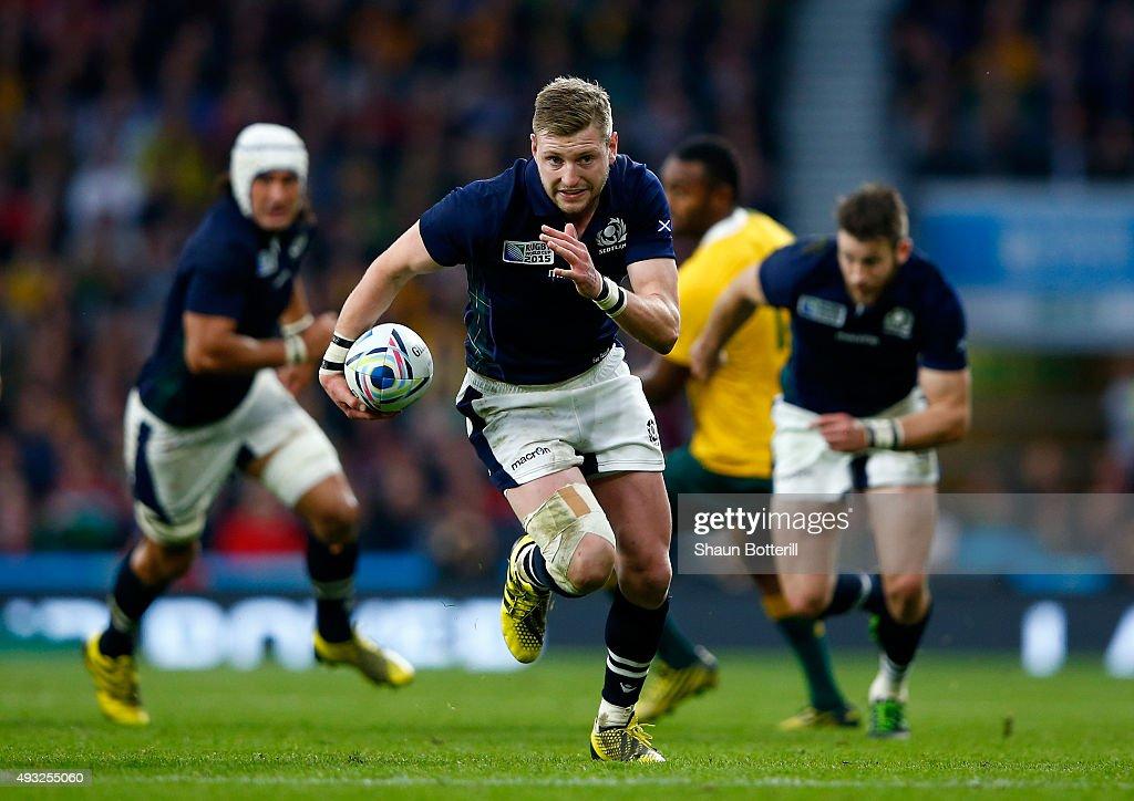 Australia v Scotland - Quarter Final: Rugby World Cup 2015 : News Photo