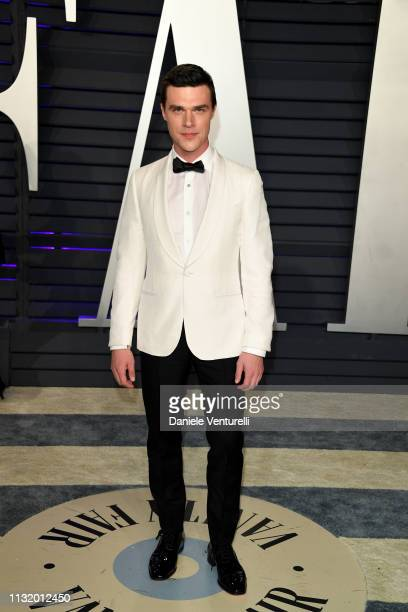 Finn Wittrock attends 2019 Vanity Fair Oscar Party Hosted By Radhika Jones at Wallis Annenberg Center for the Performing Arts on February 24 2019 in...