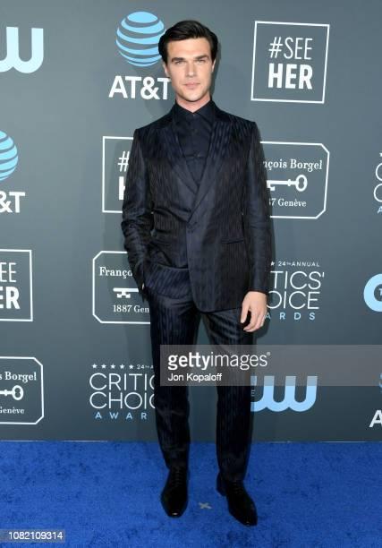 Finn Wittrock attends the 24th annual Critics' Choice Awards at Barker Hangar on January 13 2019 in Santa Monica California