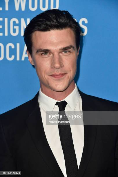 Finn Wittrock attends the Hollywood Foreign Press Association's Grants Banquet at The Beverly Hilton Hotel on August 9 2018 in Beverly Hills...