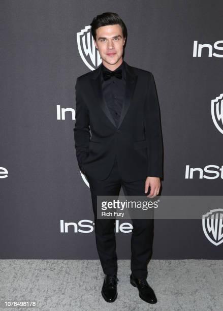 Finn Wittrock attends the InStyle And Warner Bros Golden Globes After Party 2019 at The Beverly Hilton Hotel on January 6 2019 in Beverly Hills...