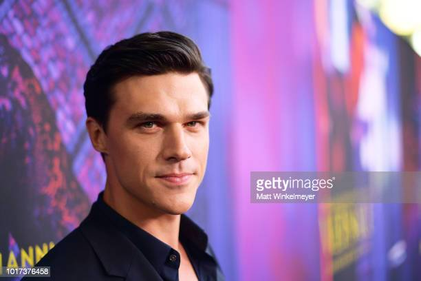 Finn Wittrock attends the panel and photo call for FX's 'The Assassination of Gianni Versace American Crime Story' at Los Angeles County Museum of...