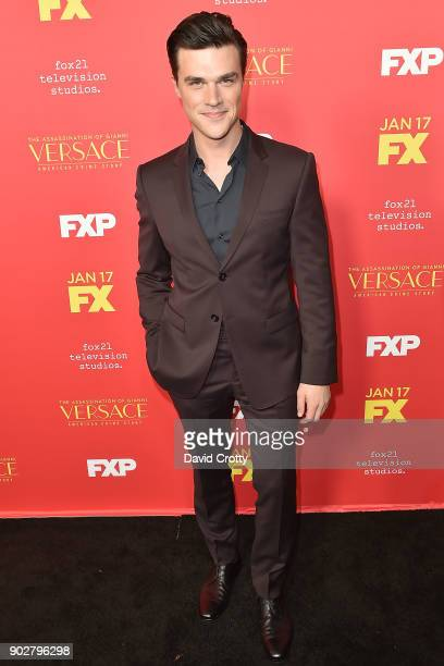 Finn Wittrock attends the Premiere Of FX's 'The Assassination Of Gianni Versace American Crime Story' Arrivals at ArcLight Hollywood on January 8...