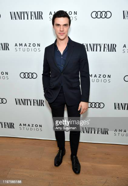 Finn Wittrock attends The Vanity Fair x Amazon Studios 2020 Awards Season Celebration at San Vicente Bungalows on January 04 2020 in West Hollywood...