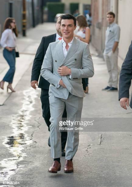 Finn Wittrock is seen at 'Jimmy Kimmel Live' on July 18 2017 in Los Angeles California