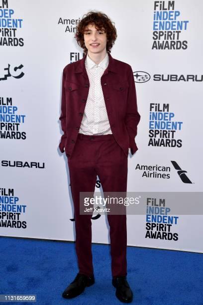 Finn Wolfhard attends the 2019 Film Independent Spirit Awards on February 23 2019 in Santa Monica California