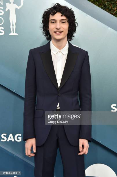 Finn Wolfhard attends the 26th Annual Screen Actors Guild Awards at The Shrine Auditorium on January 19 2020 in Los Angeles California 721430