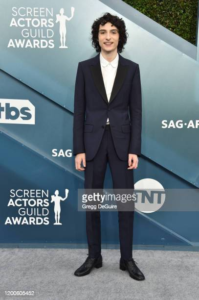 Finn Wolfhard attends the 26th Annual Screen Actors Guild Awards at The Shrine Auditorium on January 19, 2020 in Los Angeles, California. 721430