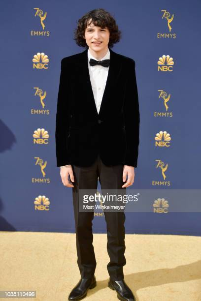 Finn Wolfhard attends the 70th Emmy Awards at Microsoft Theater on September 17 2018 in Los Angeles California