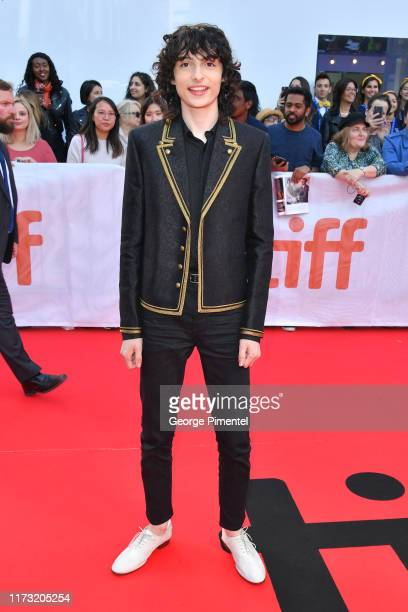Finn Wolfhard attends The Goldfinch premiere during the 2019 Toronto International Film Festival at Roy Thomson Hall on September 08 2019 in Toronto...