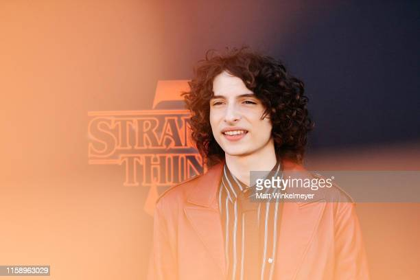 Finn Wolfhard attends the premiere of Netflix's Stranger Things Season 3 on June 28 2019 in Santa Monica California