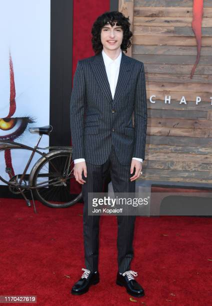 Finn Wolfhard attends the Premiere Of Warner Bros Pictures' It Chapter Two at Regency Village Theatre on August 26 2019 in Westwood California