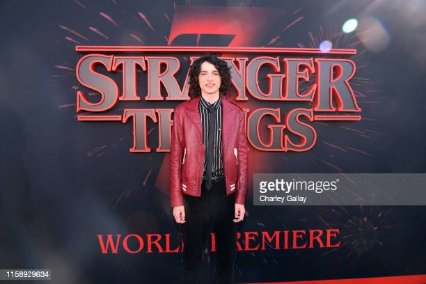 Finn Wolfhard attends the Stranger Things Season 3 World Premiere on June 28 2019 in Santa Monica California