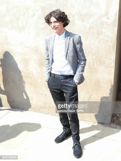 Finn Wolfhard is seen on September 16 2017 in Los Angeles California