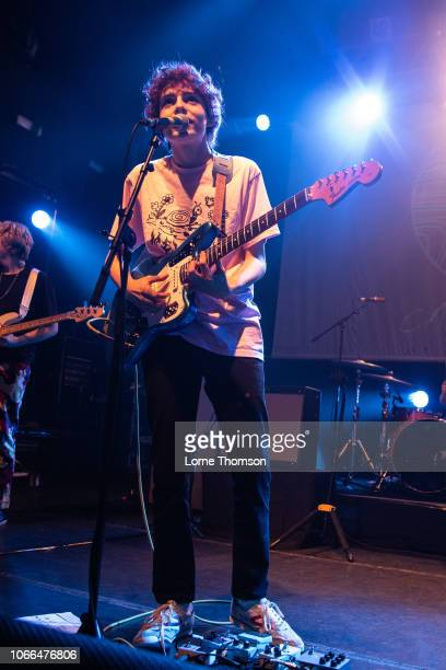 Finn Wolfhard of Calpurnia performs at KOKO on November 29, 2018 in London, England.