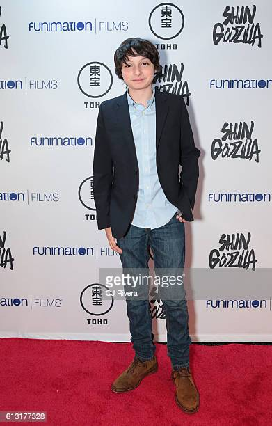 Finn Wolfhard of 'Stranger Things' attends 'Shin Godzilla' New York Comic Con Premiere on October 5 2016 in New York City