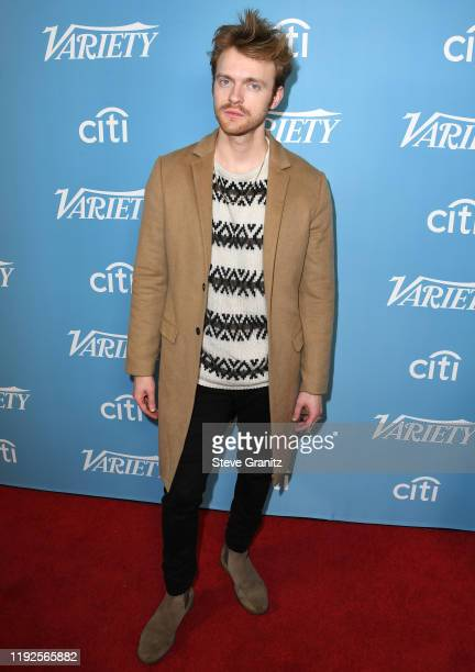Finneas arrives at the 2019 Variety's Hitmakers Brunch at Soho House on December 07, 2019 in West Hollywood, California.