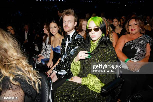 Finneas O'Connell and Billie Eilish appear at THE 62ND ANNUAL GRAMMY® AWARDS broadcast live from the STAPLES Center in Los Angeles Sunday January...