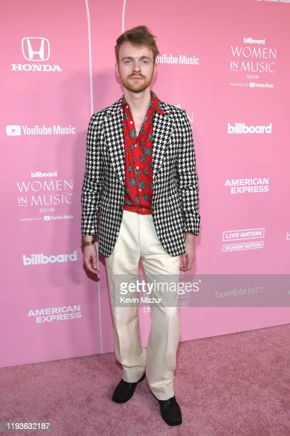 Finneas O'Connell attends Billboard Women In Music 2019 presented by YouTube Music on December 12 2019 in Los Angeles California