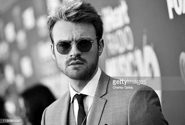 Finneas O'Connell attends the 2019 iHeartRadio Music Awards which broadcasted live on FOX at Microsoft Theater on March 14 2019 in Los Angeles...