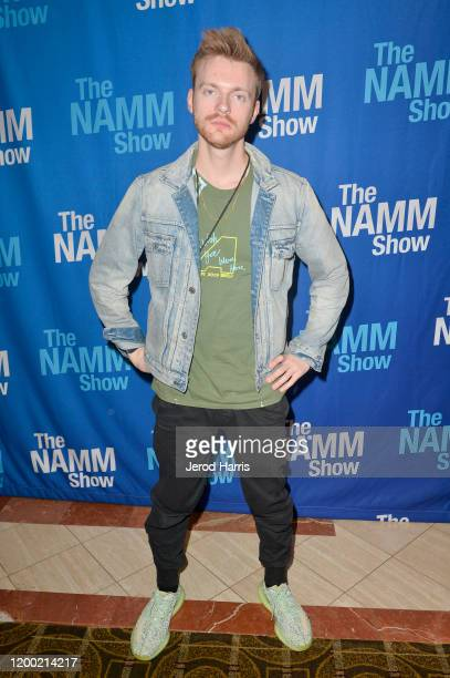 Finneas O'Connell attends The 2020 NAMM Show on January 17, 2020 in Anaheim, California.
