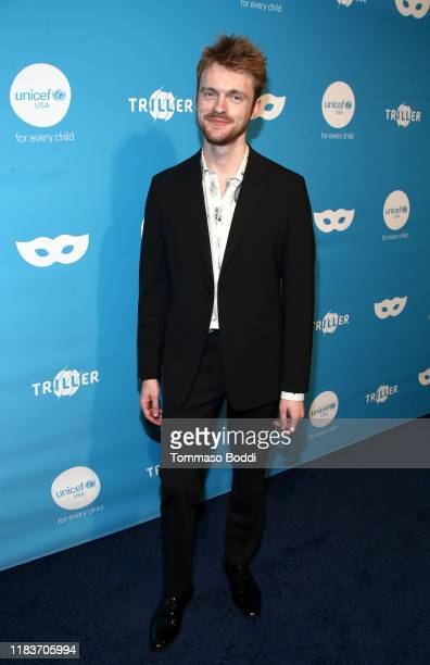 Finneas O'Connell attends the 7th Annual UNICEF Masquerade Ball 2019 at Kimpton La Peer Hotel on October 26 2019 in West Hollywood California