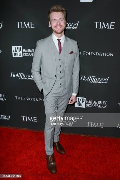 Finneas O'Connell attends the Sean Penn J/P HRO gala benefiting J/P Haitian Relief Organization and a coalition of disaster relief organizations at...