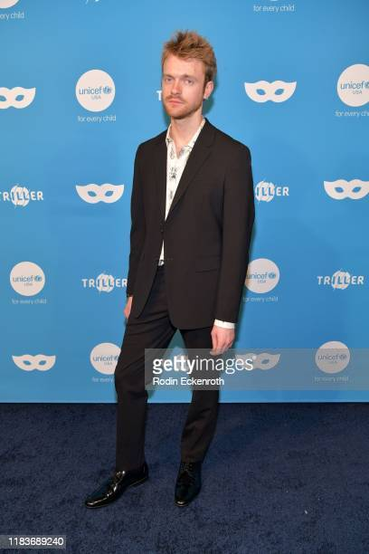 Finneas O'Connell attends the UNICEF Masquerade Ball at Kimpton La Peer Hotel on October 26 2019 in West Hollywood California