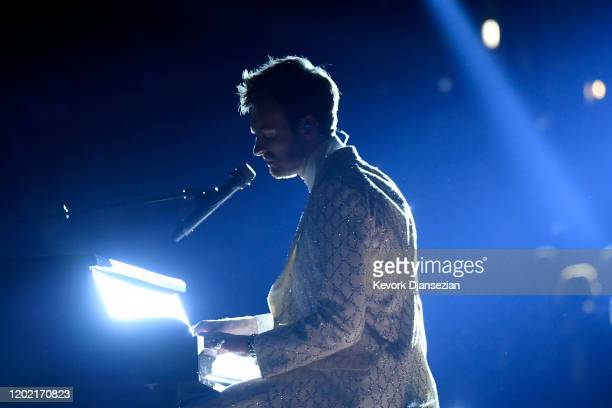 Finneas O'Connell performs onstage during the 62nd Annual GRAMMY Awards at Staples Center on January 26, 2020 in Los Angeles, California.
