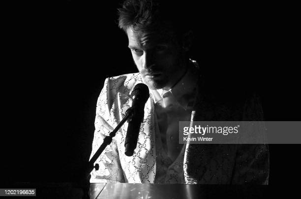 Finneas O'Connell performs onstage during the 62nd Annual GRAMMY Awards at STAPLES Center on January 26 2020 in Los Angeles California