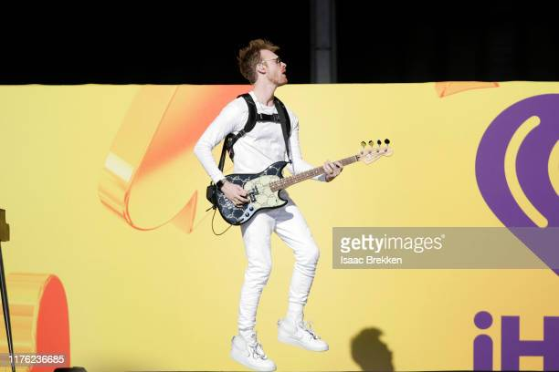 Finneas O'Connell performs onstage during the Daytime Stage at the 2019 iHeartRadio Music Festival held at the Las Vegas Festival Grounds on...