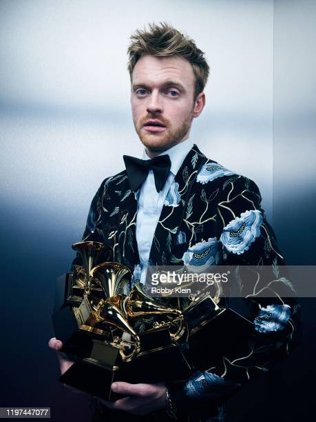 Finneas O'Connell poses for a portrait during the 62nd Annual GRAMMY Awards on January 26, 2020 in Los Angeles, California.