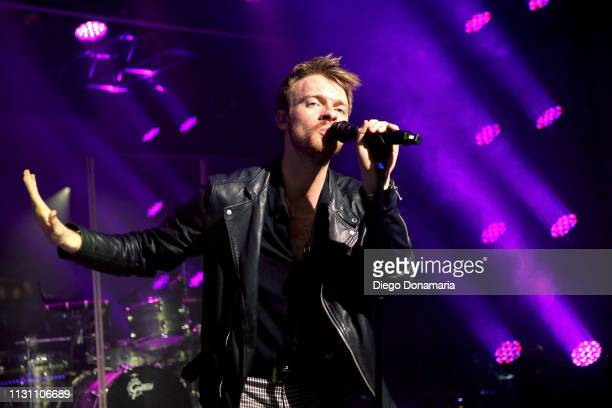 Finneas performs onstage at Uber Event during the 2019 SXSW Conference and Festivals at Austin Convention Center on March 16 2019 in Austin Texas