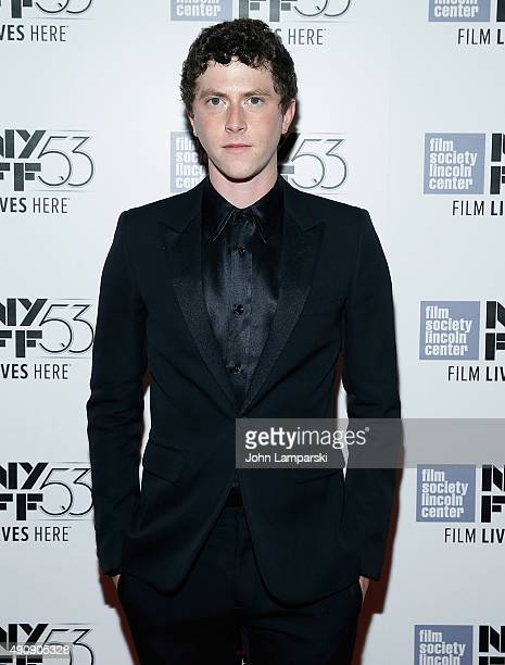Finnegan Oldfield attends 'Les Cowboys' during 53rd New York Film Festival at Alice Tully Hall Lincoln Center on October 1 2015 in New York City