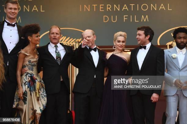 Finnish actor Joonas Suotamo British actress Thandie Newton US actor Woody Harrelson US director Ron Howard British actress Emilia Clarke US actor...