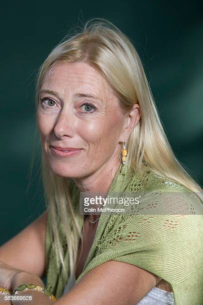 Finnish artist Sophia Jansson niece of 'Moomin' creator Tove Jansson pictured at the Edinburgh International Book Festival where she talked about...