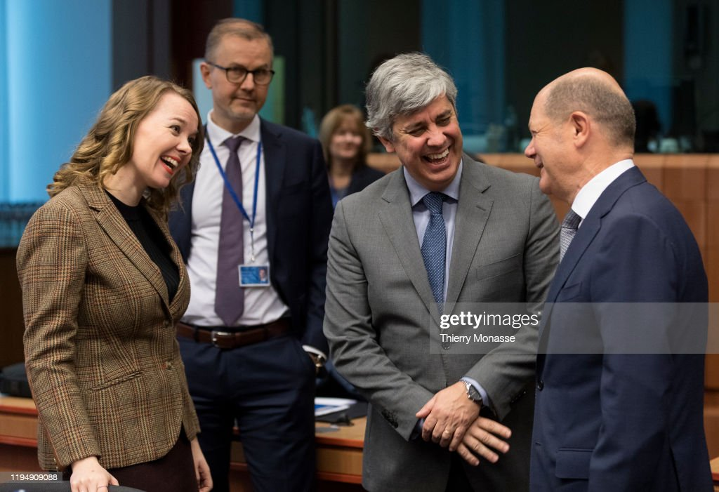 Eurogroup Ministers Meeting : ニュース写真