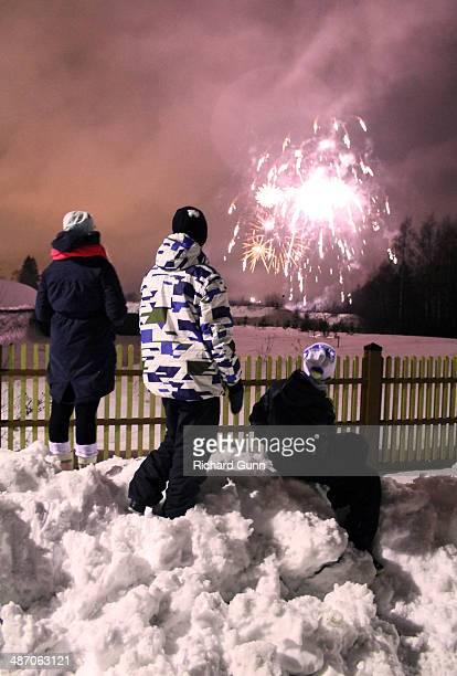 Finnish New Year Fireworks