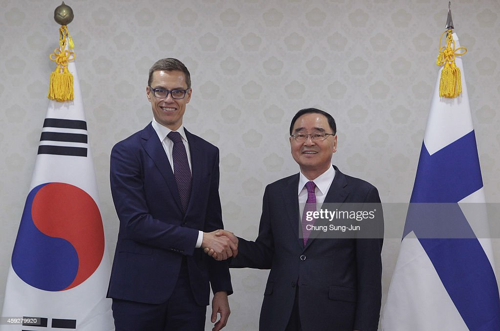 PM Of Finland Stubb Visits South Korea