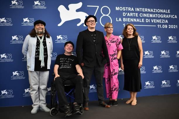 "ITA: ""Sokea Mies, Joka Ei Halalunnut Nahda Titanicia"" Photocall - The 78th Venice International Film Festival"