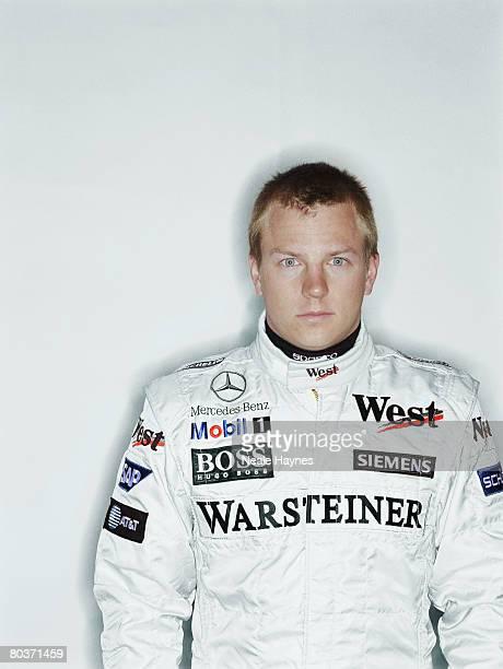 Finnish racing driver Kimi Raikkonen in his McLaren Mercedes overalls 28th March 2005