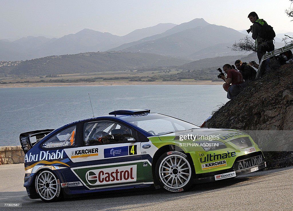 Finnish rally drivers, of the BP Ford WR Pictures | Getty Images